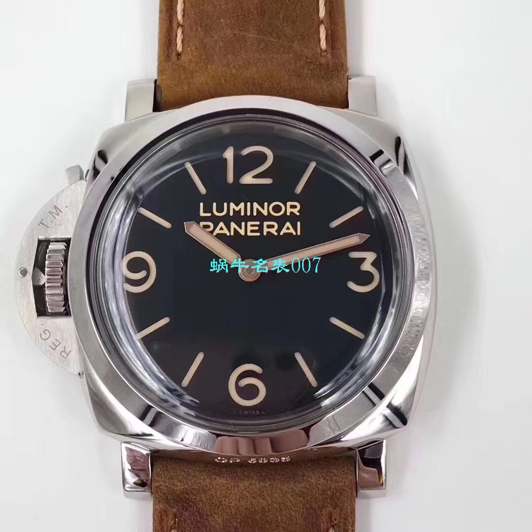 【ZF厂复刻仿表】沛纳海Luminor 1950 left-handed 左撇子3 Days PAM557、PAM00557