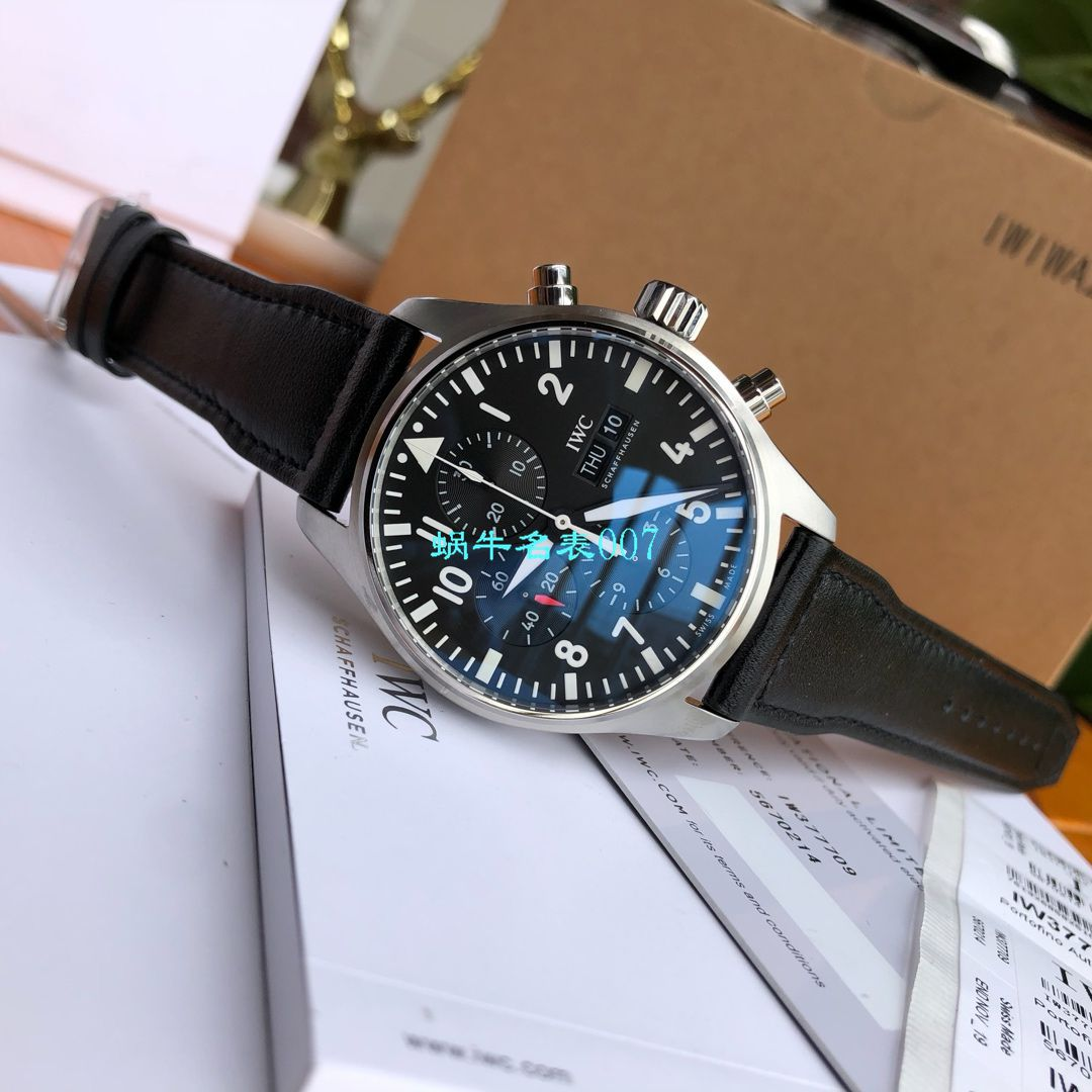 【独家评测视频渠道原单】IWC万国表飞行员系列IW377709腕表