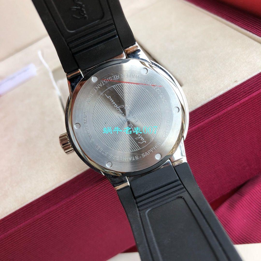 【渠道原单】菲拉格慕最新款计时石英男表这款类似AP的表壳设计