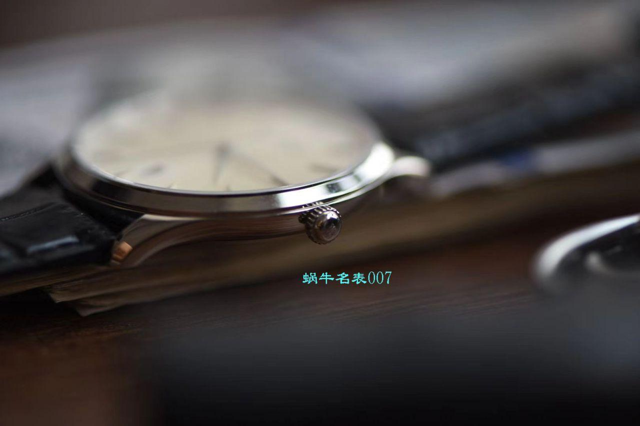 【ZF厂Jaeger-LeCoultre顶级复刻仿表】积家大师系列1288420腕表