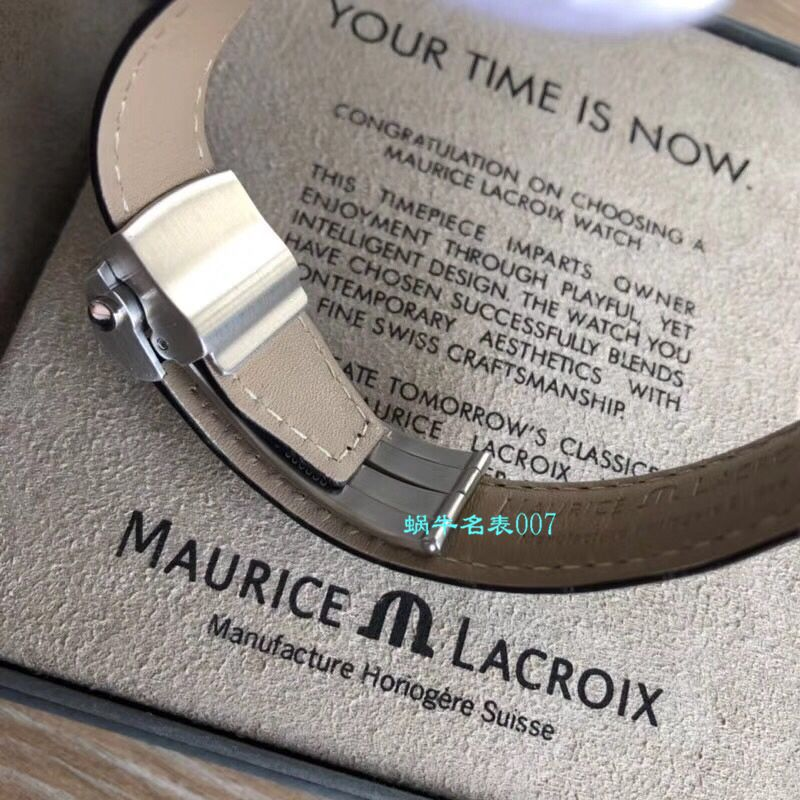 【Maurice Lacroix渠道原单】艾美奔涛系列PT6148-SS001-131-1,PT6148-SS002-131-1,PT6148-SS002-330腕表