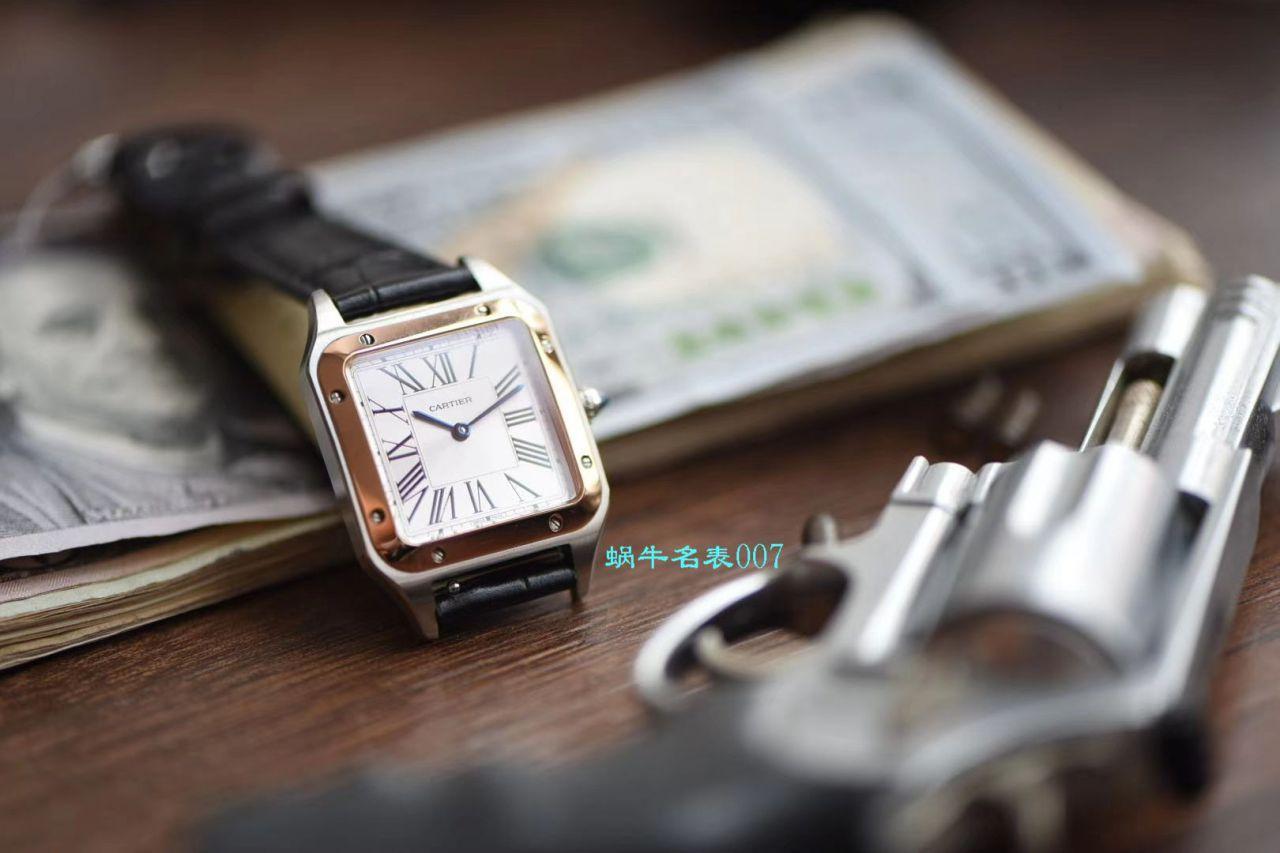 【复刻表价格值得买吗,在哪里买】XF厂卡地亚山度士系列WSSA0023小号女士腕表