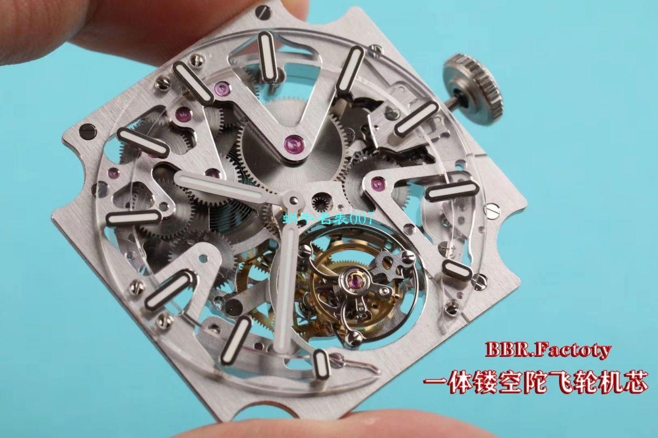 【BBR一比一超A高仿手表】柏莱士EXPERIMENTAL系列BRX2-MRTB-ST陀飞轮腕表 / BR-X2DM