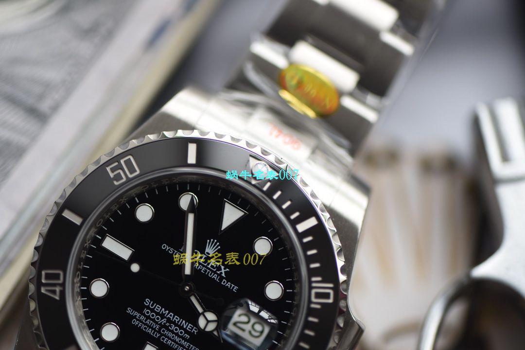 【视频评测N厂绿水鬼黑水鬼V10升级版本手表】劳力士潜航者型系列116610LV-97200,116610LN-97200黑绿水鬼腕表