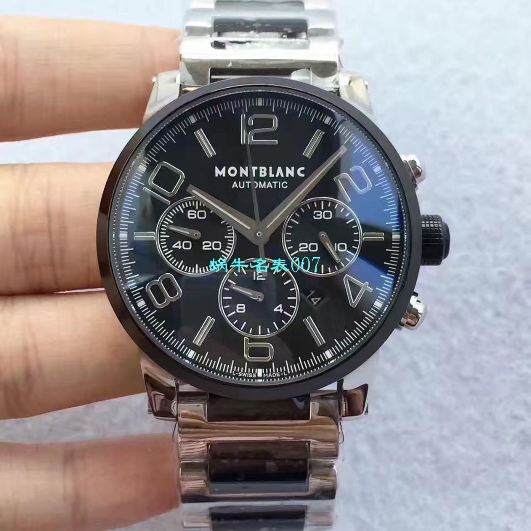 【台湾厂MONTBLANC复刻手表】万宝龙时光行者系列李达康书记同款U0103094腕表