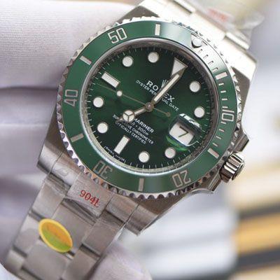 【视频评测最完美复刻Rolex绿水鬼SUBN厂V10升级版】劳力士潜航者型系列116610LV-97200绿盘腕表价格报价