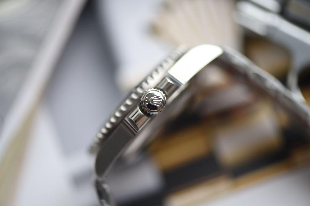 【视频评测N厂V10版本Rolex黑水鬼仿表】劳力士潜航者型系列116610LN-97200黑盘腕表