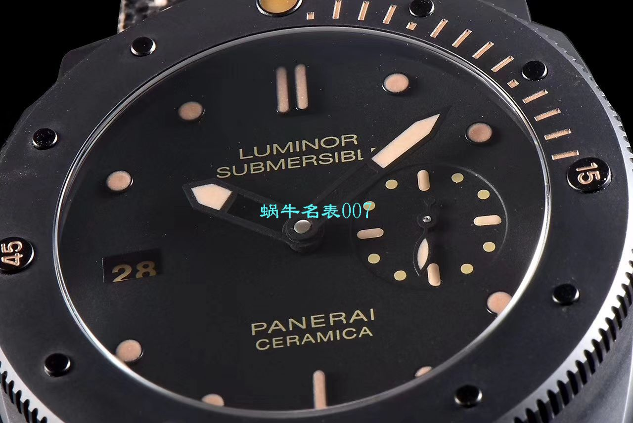 【XF厂Panerai复刻仿表】沛纳海LUMINOR 1950系列PAM00607腕表 / PAM607