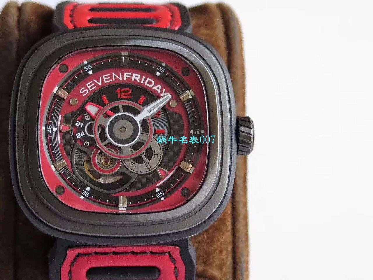 【视频评测SV厂超A高仿手表】七个星期五Seven friday P3B/06 - A490腕表