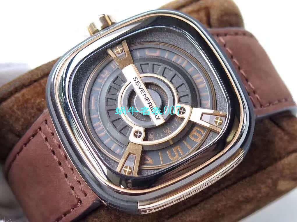 【视频评测SV工厂顶级复刻手表】七个星期五 Seven Friday M2/02 腕表