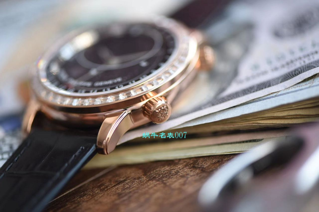 【台湾厂最新升级版高仿手表】百达翡丽超级复杂功能计时系列6104R-001腕表