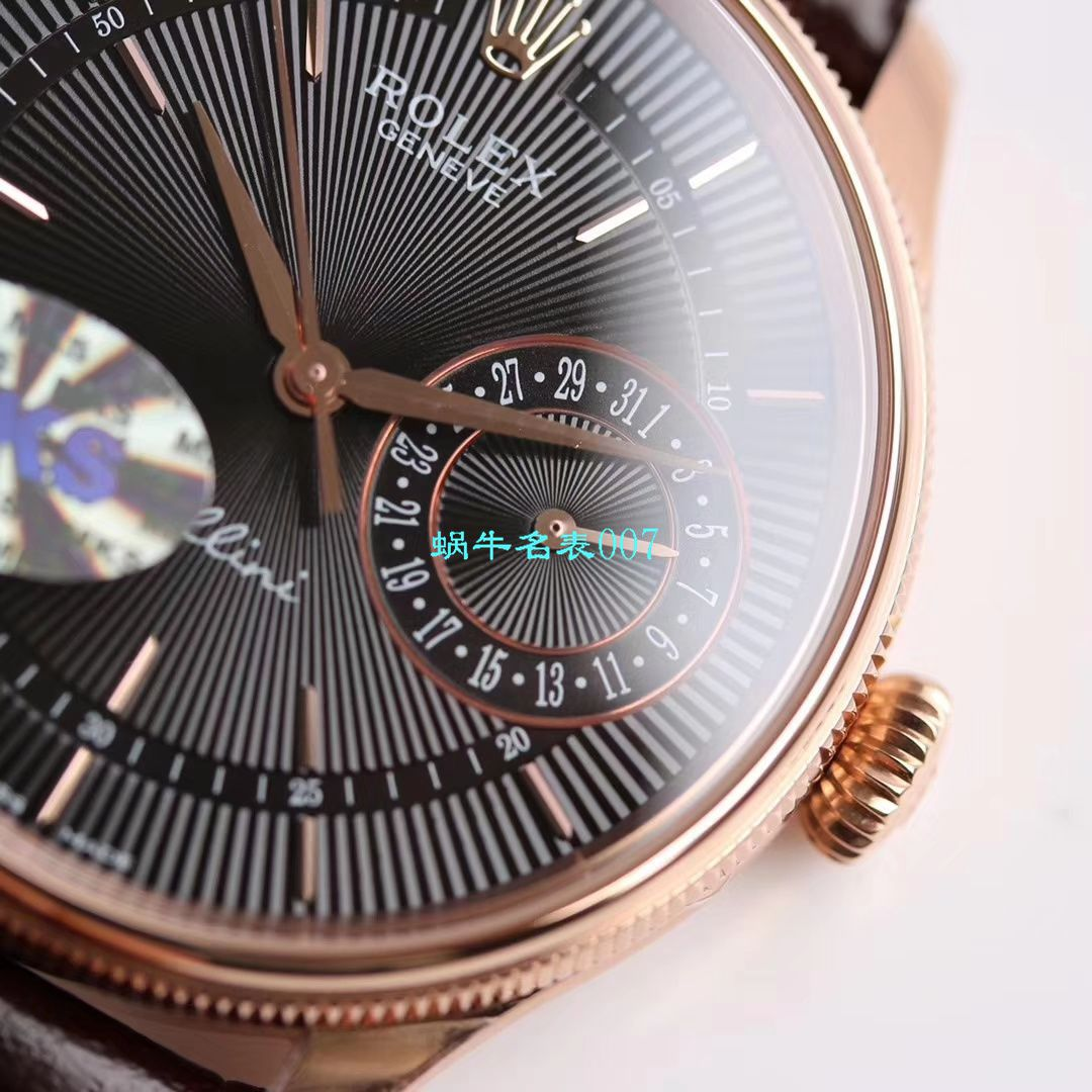 【MKS厂复刻手表】劳力士切利尼系列m50515-0008,m50519-0006,m50515-0011腕表 / R397