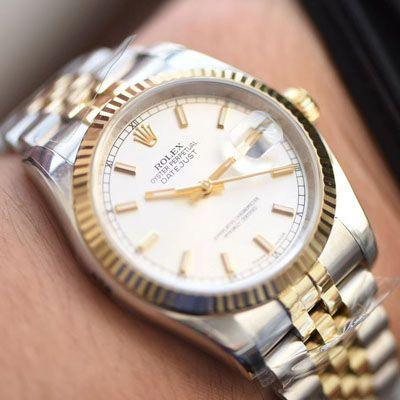 【视频评测AR厂Rolex复刻手表】劳力士 DATEJUST超级904L最强V2升级版116233日志型36系列腕表价格报价