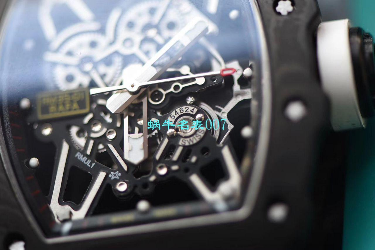 【视频评测NT厂升级版复刻手表】理查德米勒Richard Mille男士系列RM 35-02腕表