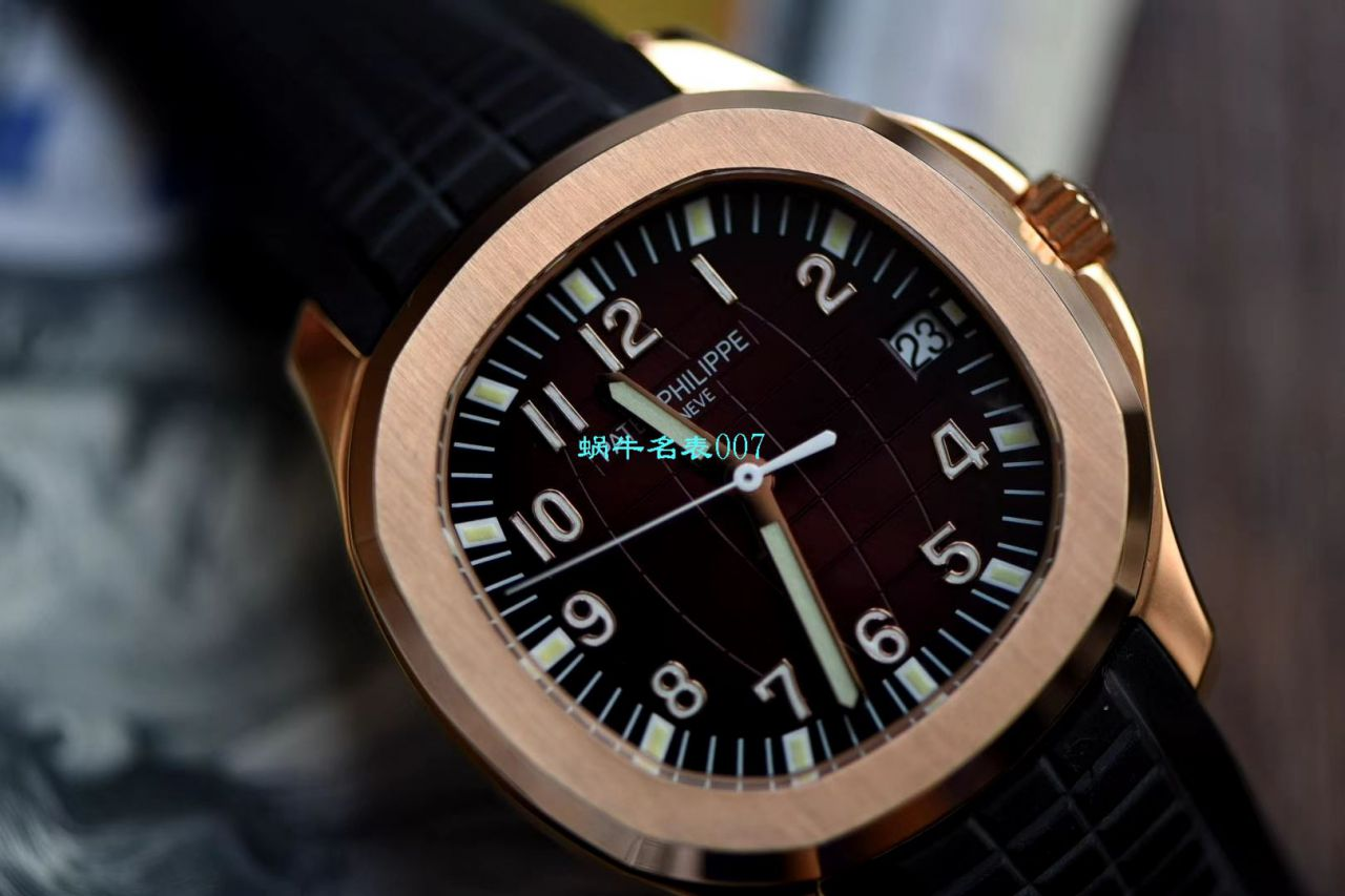 【V6厂鹦鹉螺复刻手表】百达翡丽AQUANAUT系列5167A-001,5167R-001,5168G-001三色腕表
