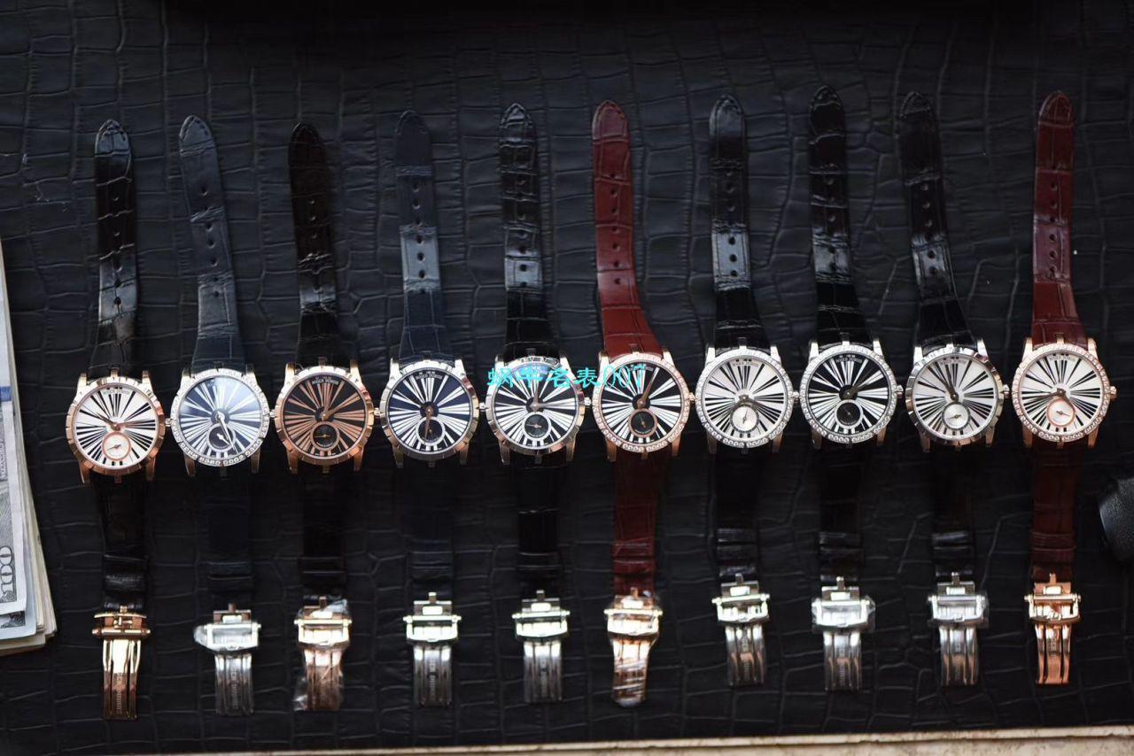 【PF厂Roger Dubuis顶级精仿女表】罗杰杜彼EXCALIBUR(王者系列)系列RDDBEX0452腕表