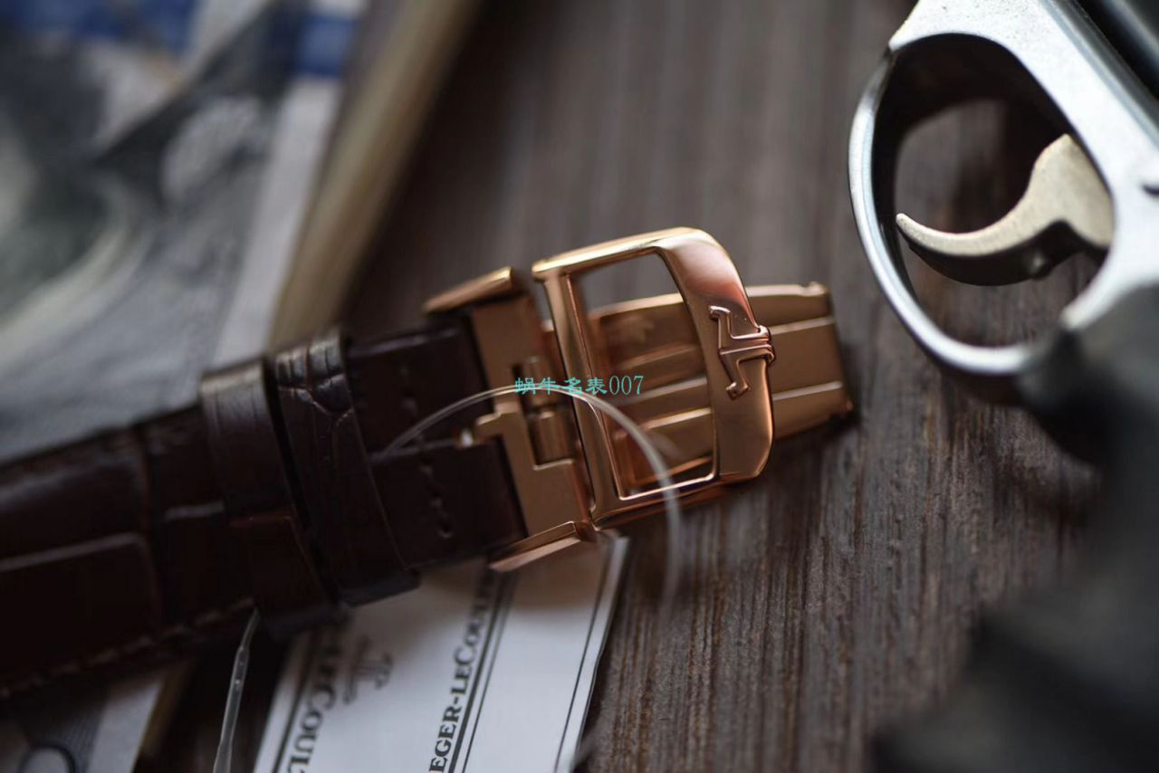【ZF厂Jaeger-LeCoultre超A高仿手表】积家超薄日历大师系列1282510腕表