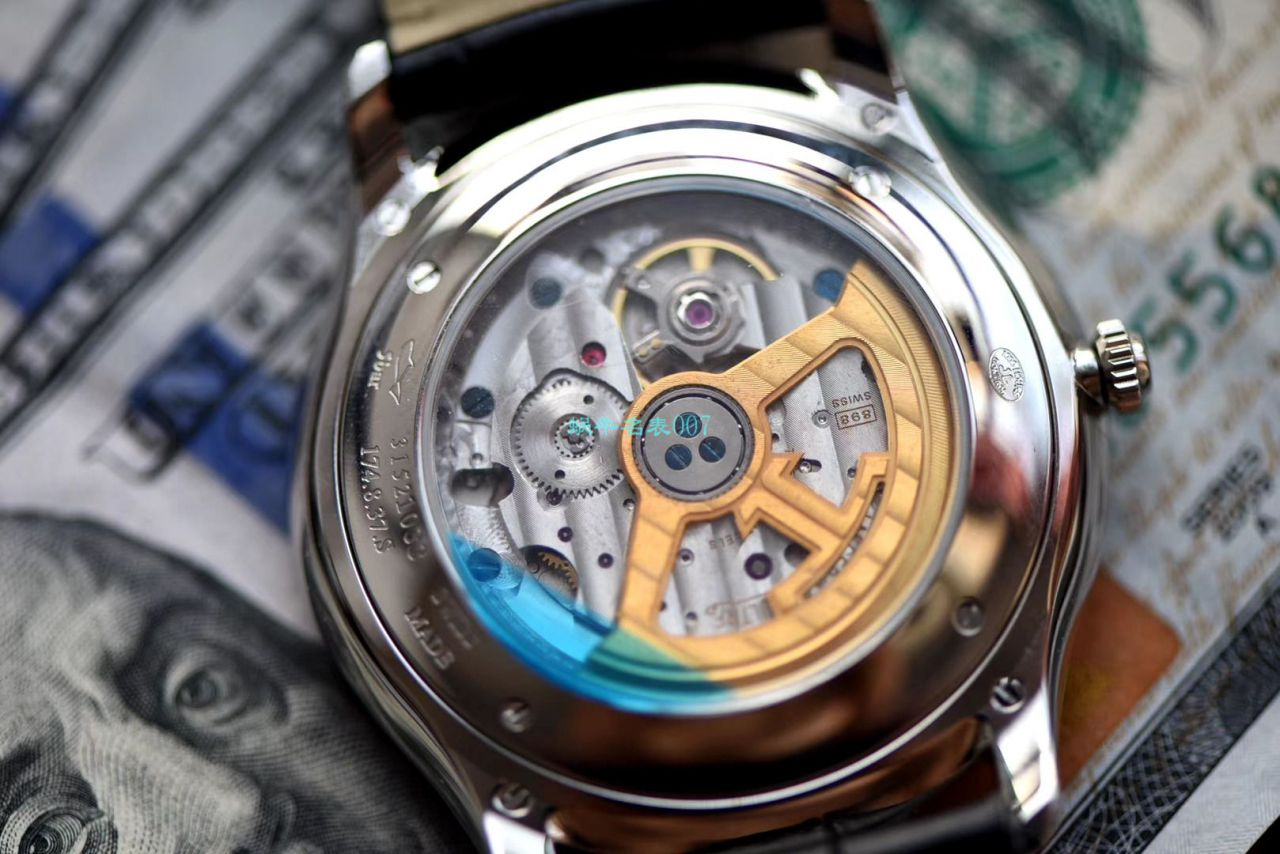 【ZF厂超A精仿手表】积家超薄日历大师系列1288430腕表