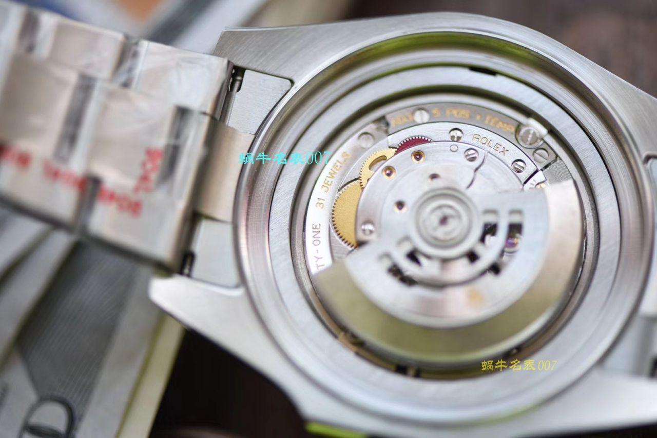 【视频评测超级神器】N厂复刻最新904L超级渐变蓝鬼王~劳力士m126660-0002手表