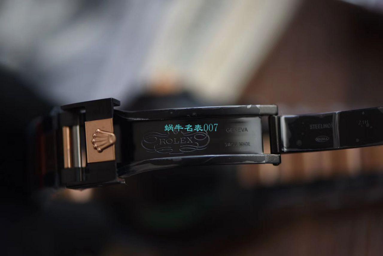 【LF厂一比一超A高仿手表】Batman特别全黑版劳力士格林尼治GMT沙士圈Rolex GMT-Master II M126711chnr-0002