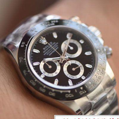 【N厂最新V3升级版ROLEX复刻手表】劳力士宇宙计型迪通拿系列116500LN-78590腕表价格报价