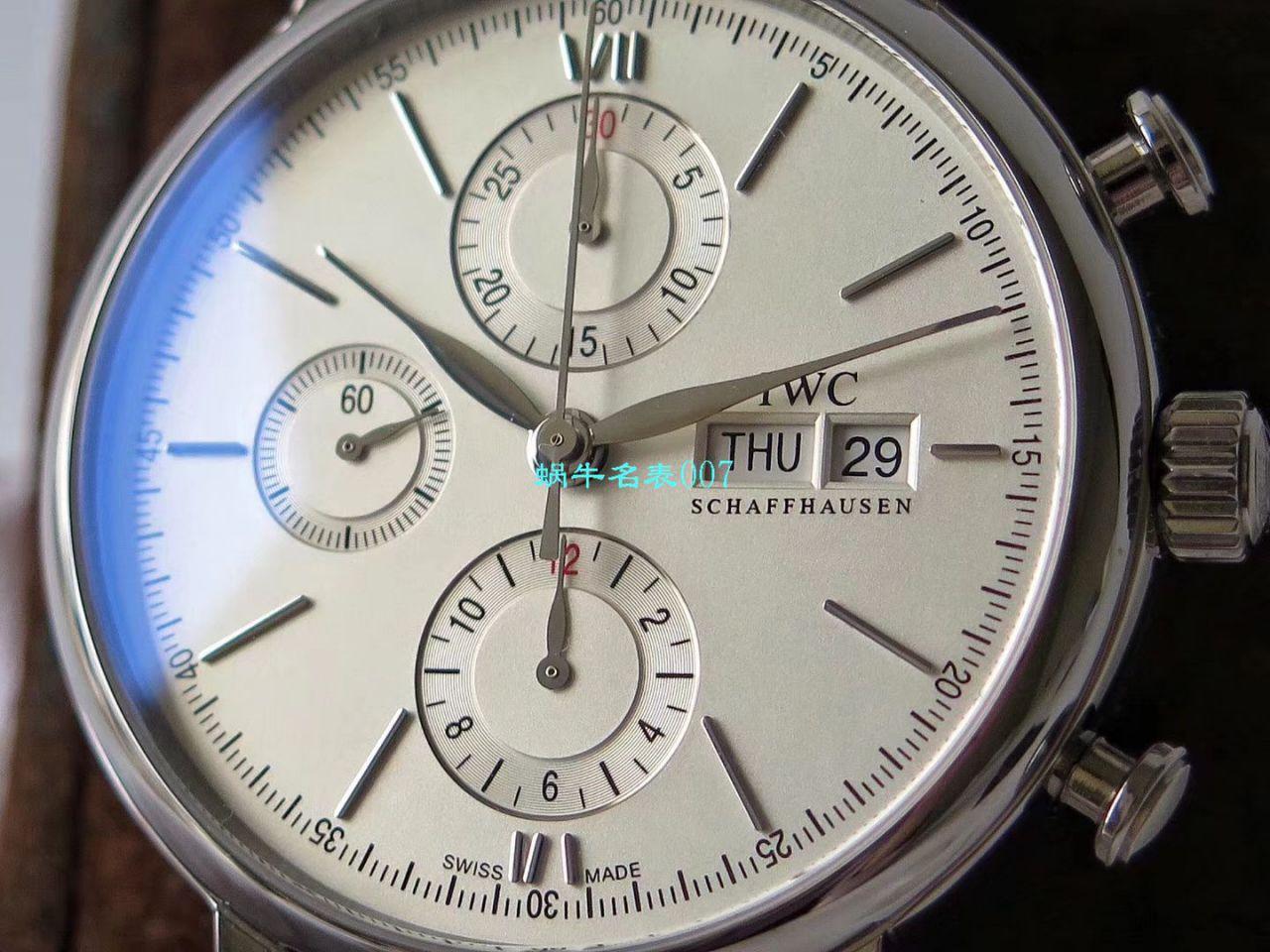 ZF匠心之作IWC波涛菲诺系列多功能计时码表儒雅登场一比一复刻万国IW391007,IW391031,IW391029,IW391019腕表