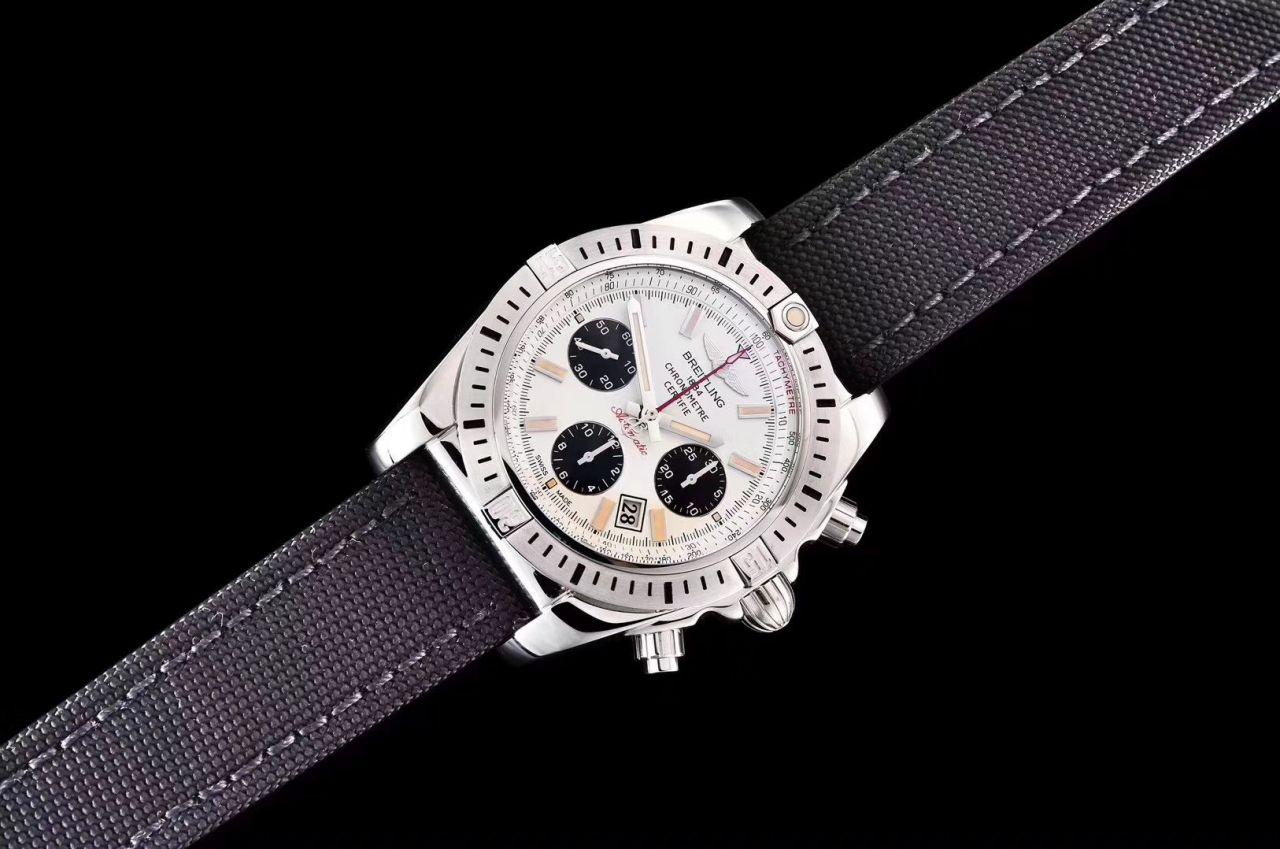 【GF厂顶级复刻熊猫眼手表】百年灵机械计时系列AB01154G.G786.101W.A20D.1,AB01154G.BD13.101W.A20D.1腕表