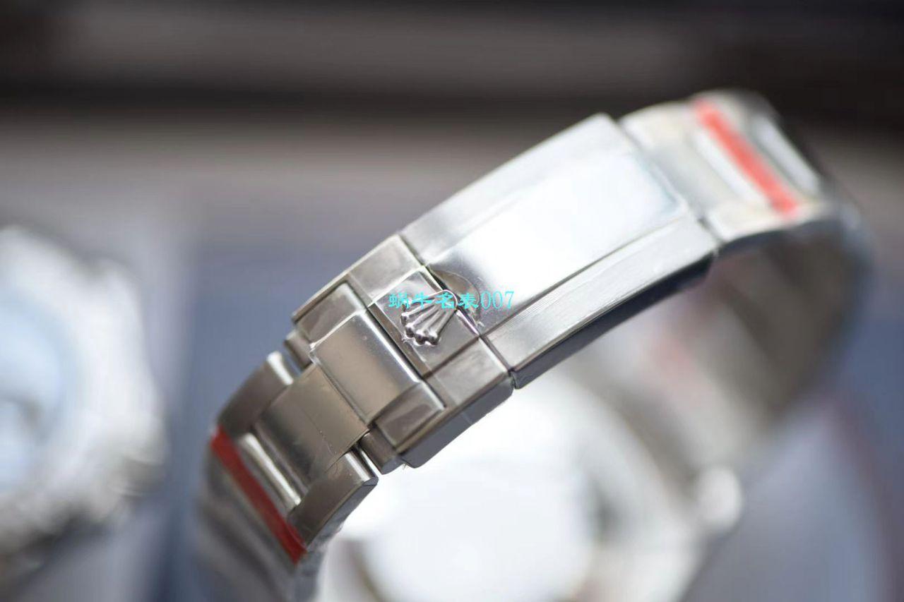 【视频评测N厂Rolex复刻手表】904钢劳力士游艇名仕YM型系列116622-78760 银盘腕表