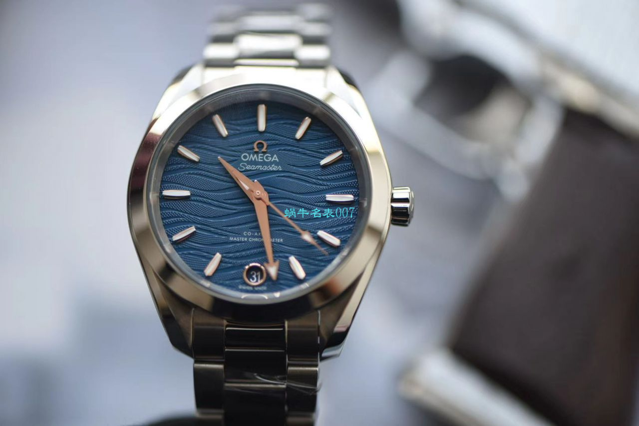 【VS厂顶级复刻OMEGA女士表】欧米茄海马系列220.10.34.20.03.001腕表