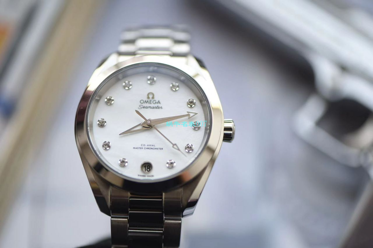 【VS厂一比一精仿Omega女表】欧米茄海马系列220.10.34.20.55.001腕表