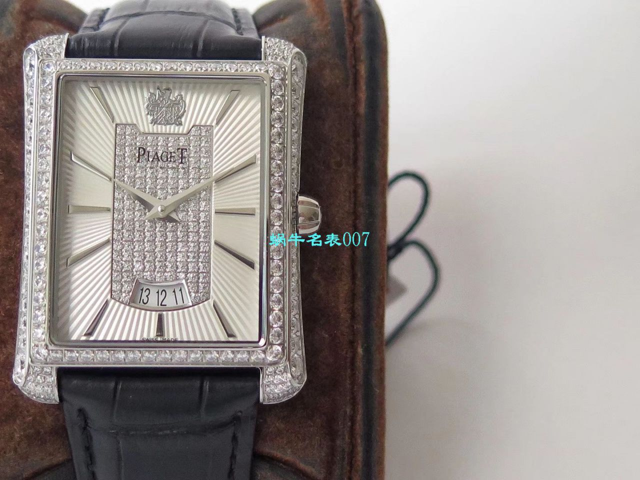 【KZ厂一比一精仿PIAGET黑带手表】伯爵BLACK -TIE系列G0A32120,G0A32121,G0A32058腕表 / PT022