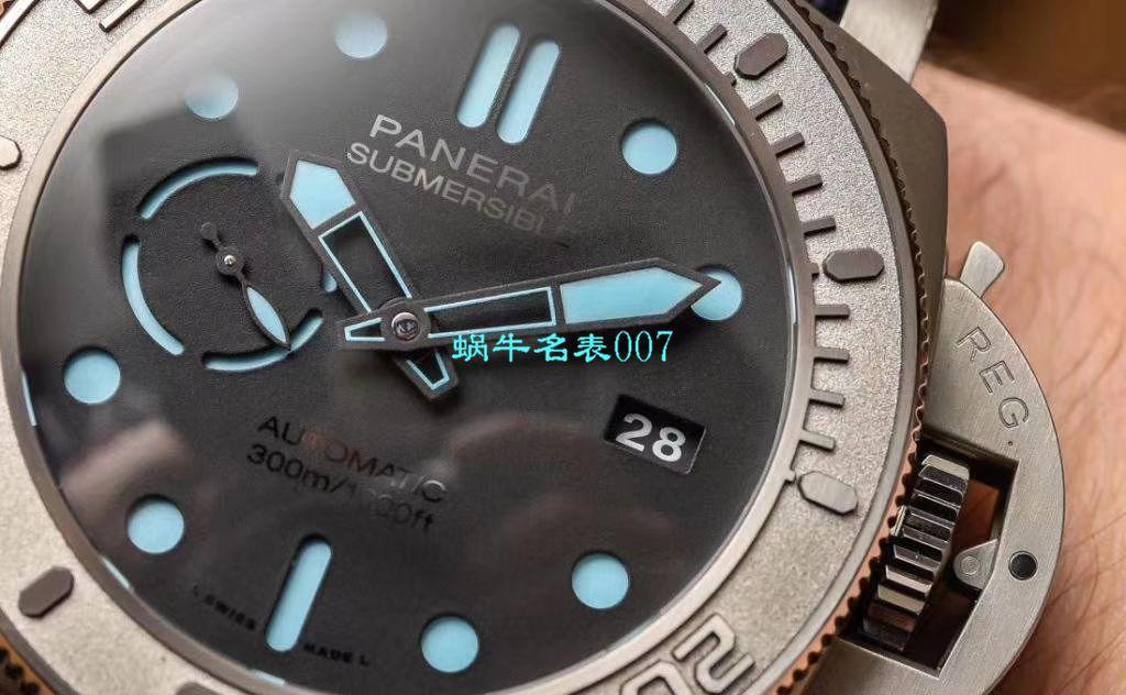【VS厂新款发售:PAM985-47mm一比一超A高仿手表】沛纳海SUBMERSIBLE 潜行系列PAM00985腕表