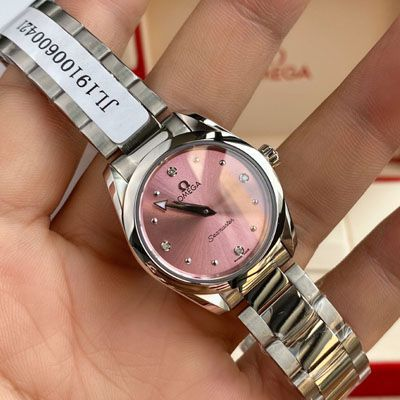 【渠道原单女表】欧米茄海马系列220.10.28.60.60.001腕表