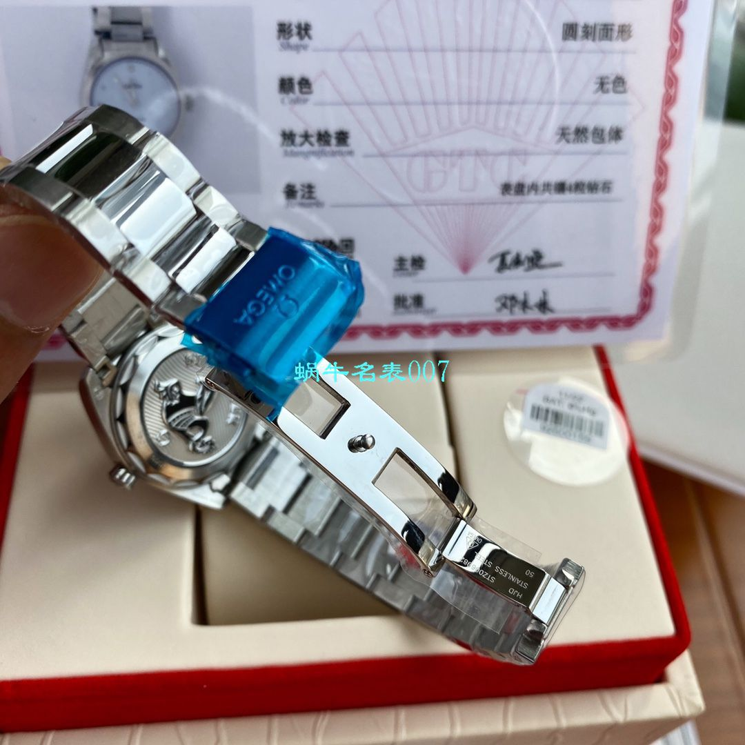 【专柜爆款,独家首发,渠道Omega女装原单】欧米茄海马系列220.10.28.60.53.001腕表