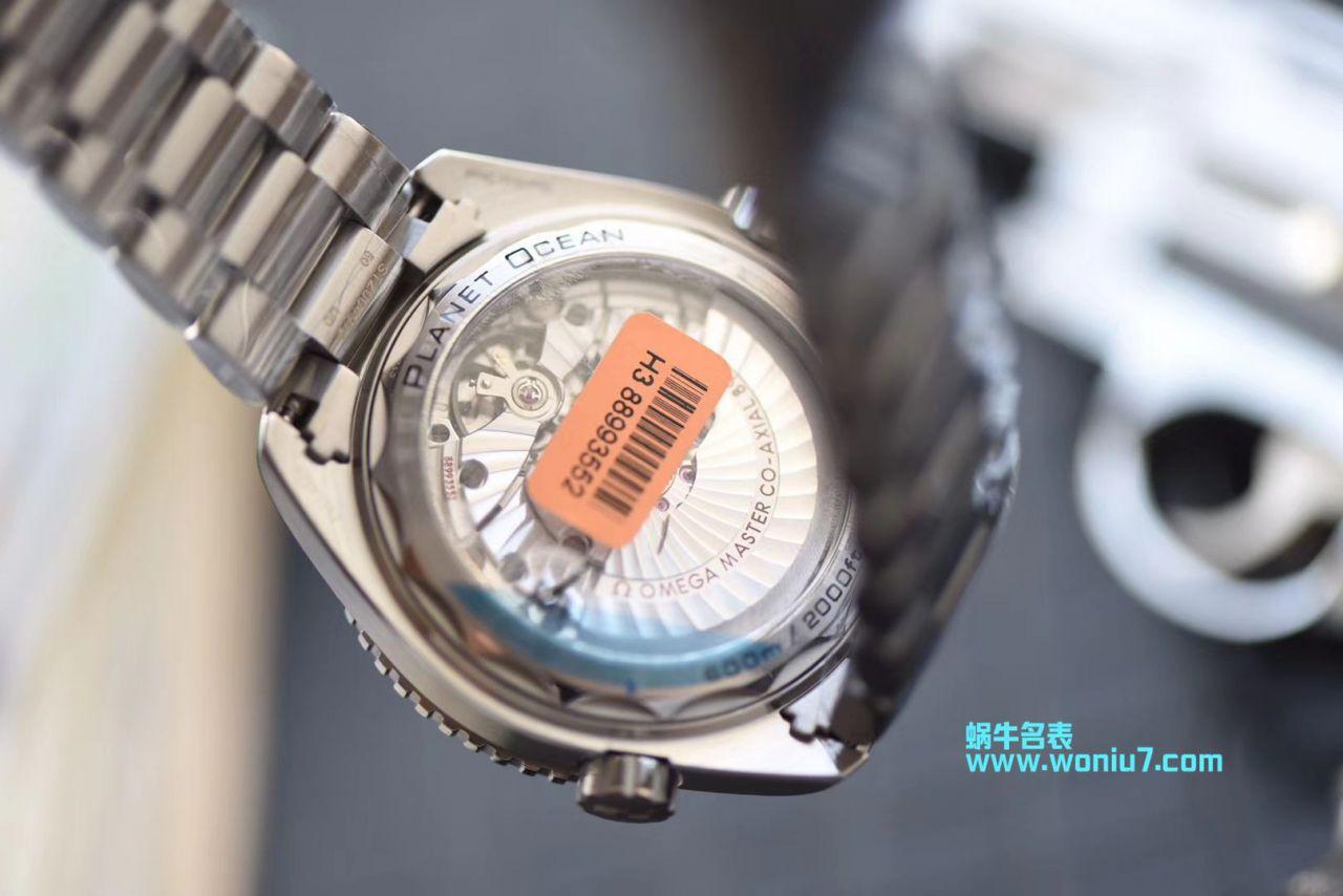 【视频评测VS厂OMEGA海洋宇宙600四分之一橙】欧米茄海洋宇宙600米215.30.44.21.01.002腕表