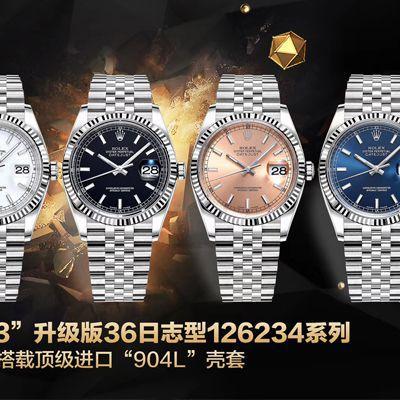 【视频评测】AR厂超强神作 RO.LEX  DATEJUST超级进口904L最强V3升级版36日志型126234系列价格报价