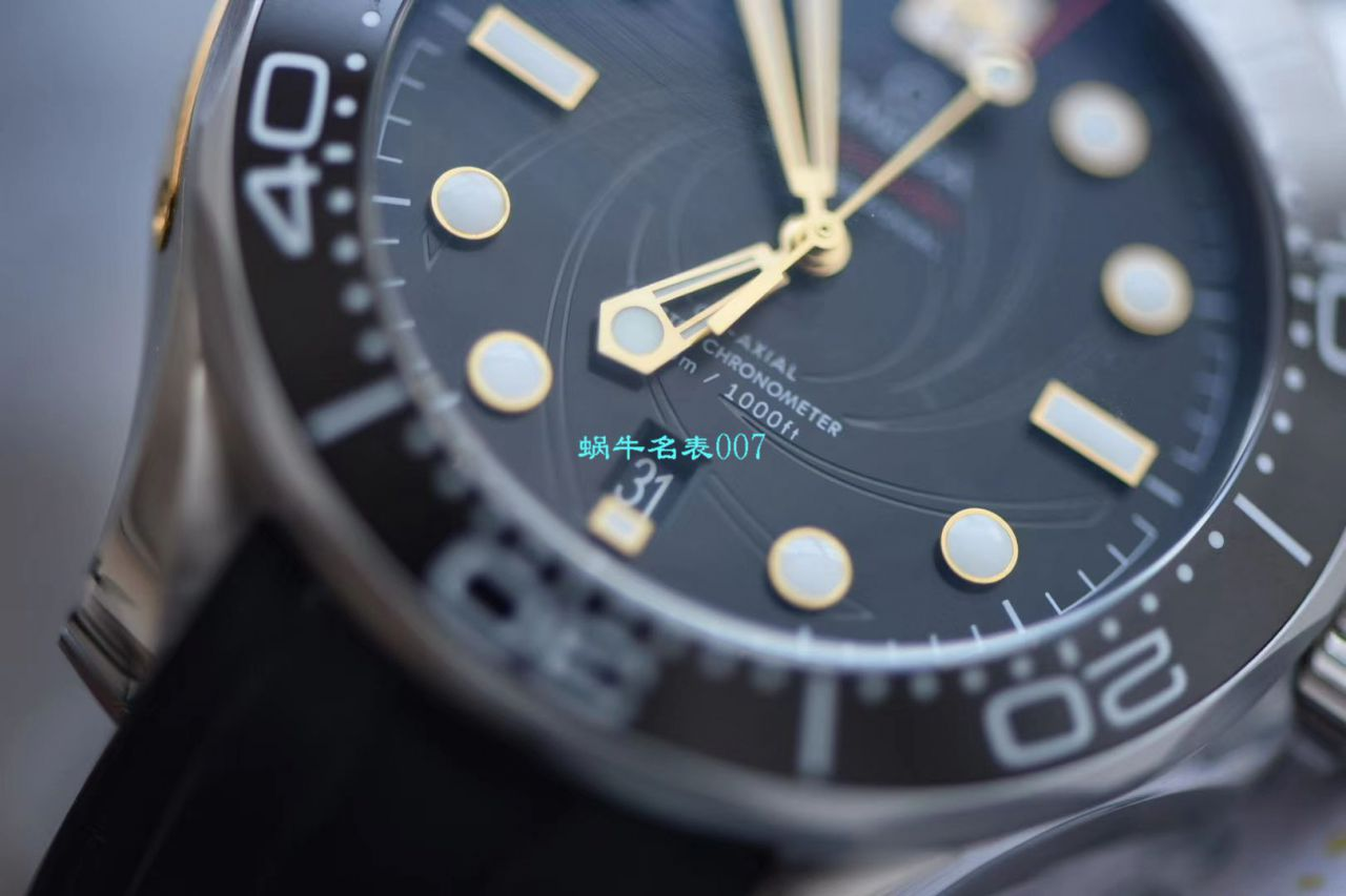VS厂爆品:欧米茄海马300米潜水表詹姆斯·邦德007,每个男人心中都有一个007梦
