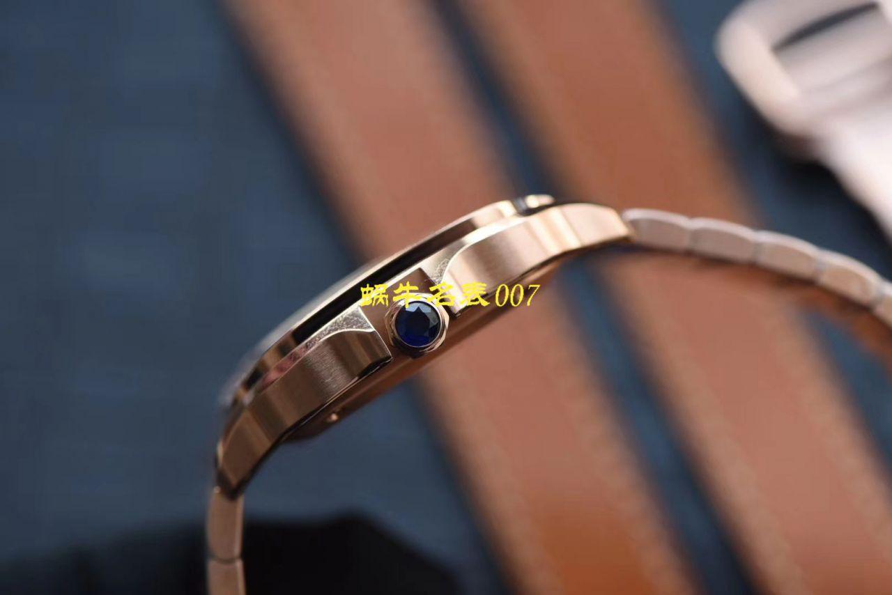 HBBV6厂新款卡地亚山度士女装表圈镶WJSA0010,WJSA0007中号女表