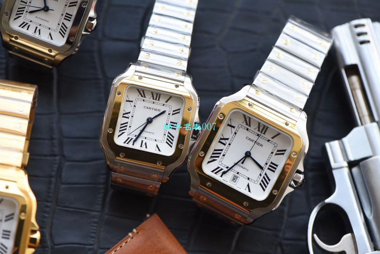【V6厂CARTIER复刻表女装】卡地亚山度士 SANTOS系列WJSA0007腕表