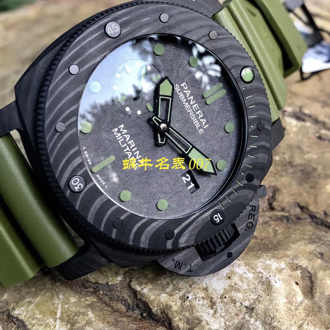 【VS厂新品军绿色英雄情结复刻手表】沛纳海SUBMERSIBLE 潜行系列PAM00961腕表