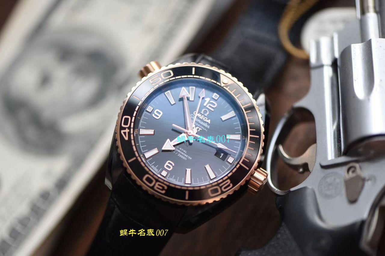 【视频评测VS厂官网深海之黑间金之王复刻手表】欧米茄海洋宇宙600米215.63.46.22.01.001腕表