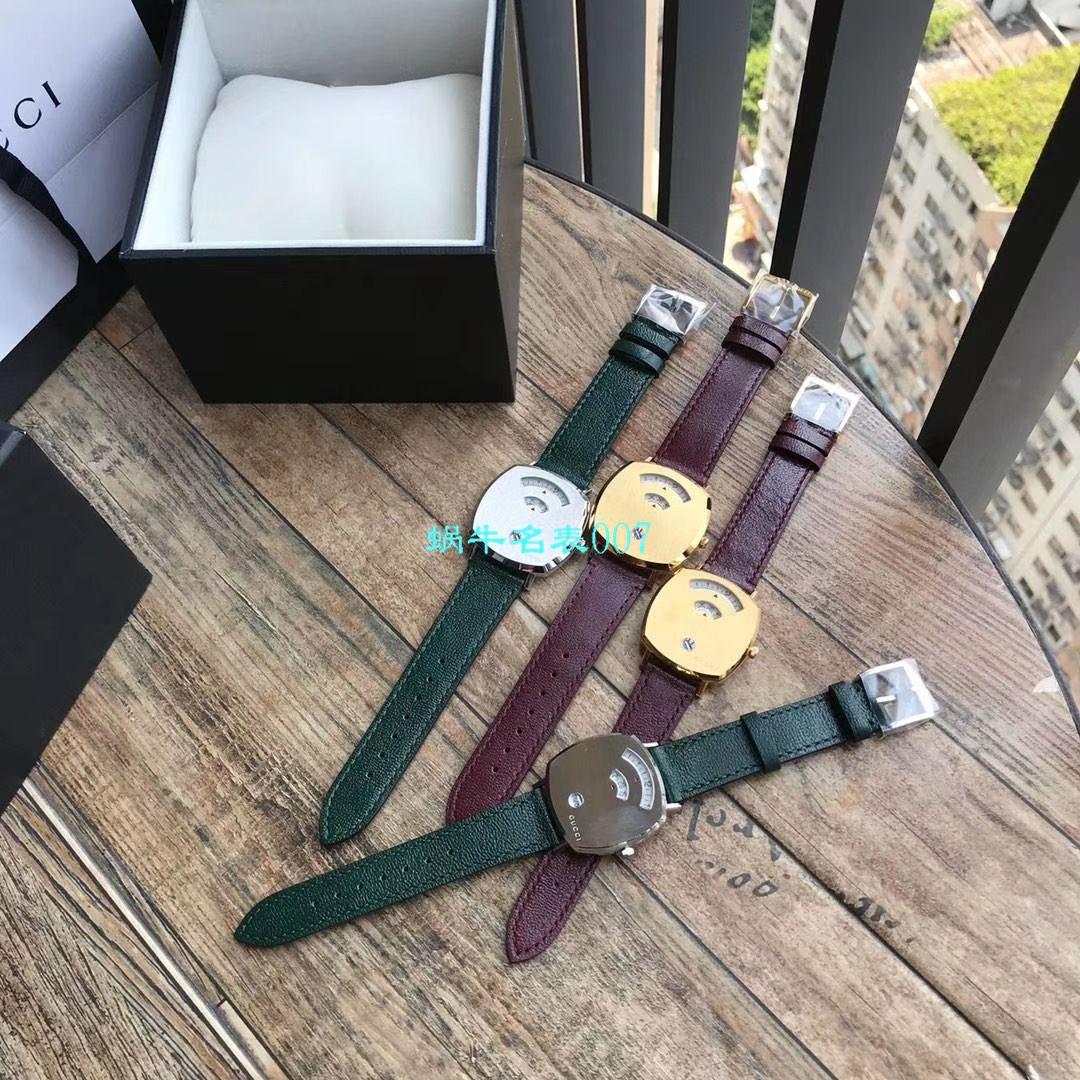 【渠道原单】original Gucci,古驰新款 Grip系列腕表YA157403,YA157401手表