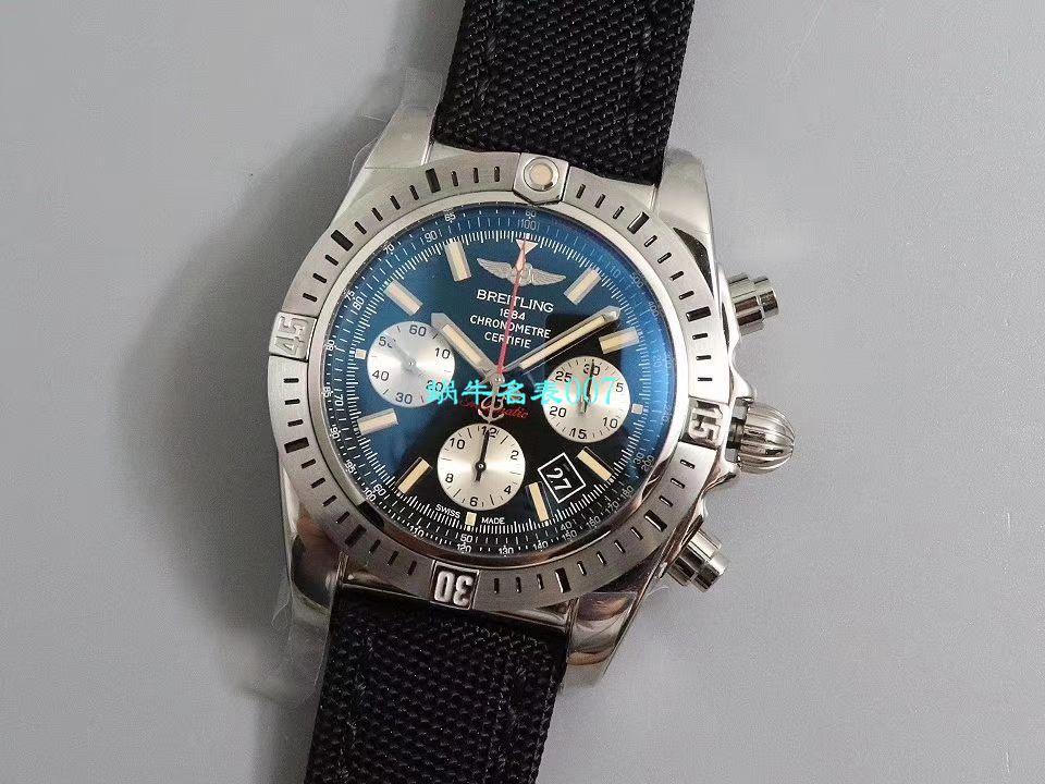 【GF厂官网复刻表】百年灵机械计时王牌飞行员系列AB01154G.BD13.101W.A20D.1腕表
