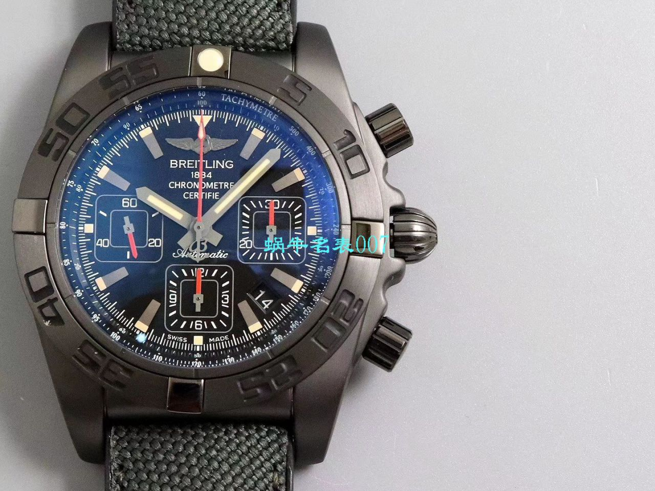 【GF厂超A高仿手表】百年灵机械终极计时黑鹰腕表系列MB0111C2.BD07.153S.M20D.2腕表