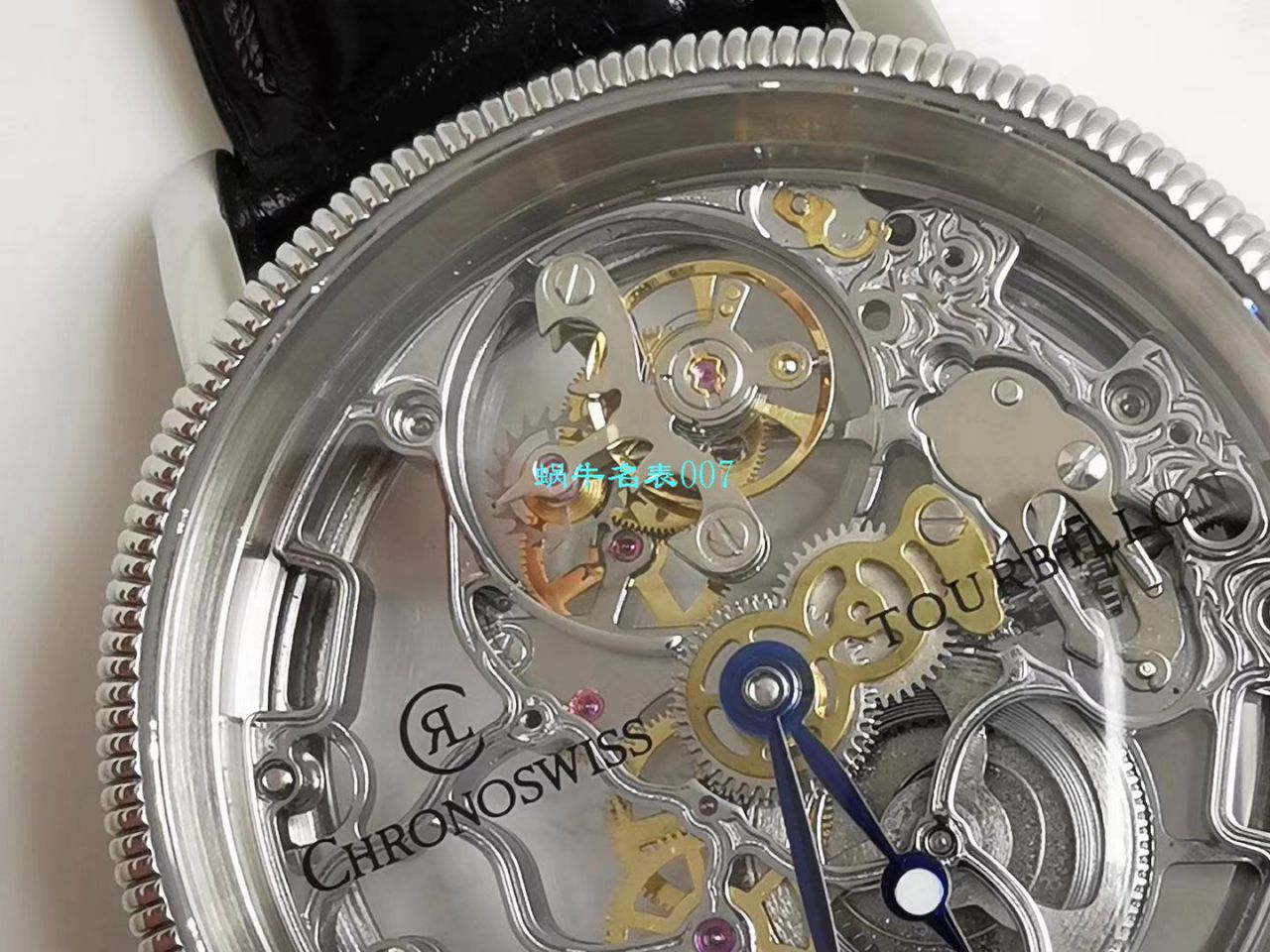 JB厂高仿瑞宝Chronoswiss镂空陀飞轮 腕表
