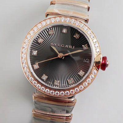 【BV厂复刻女士手表】宝格丽LVCEA系列102192 LU33BSPGSPGD腕表价格报价