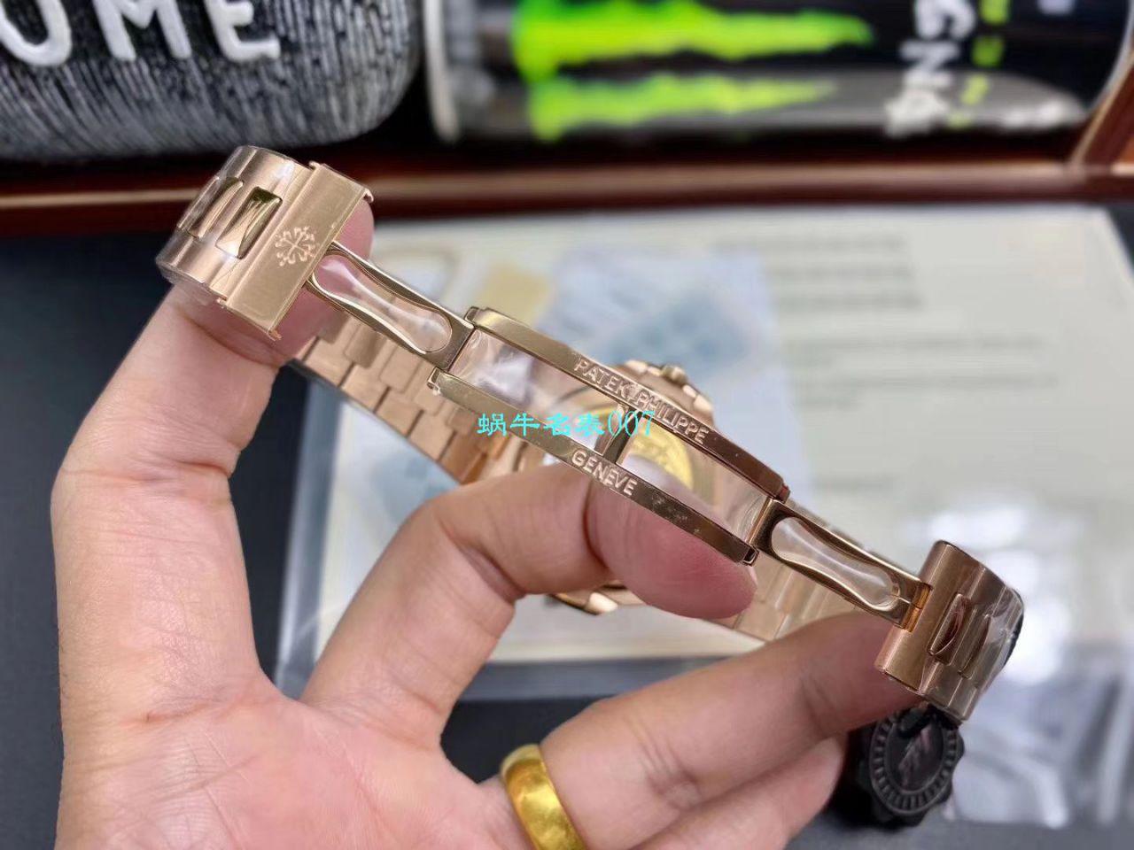 【PPF厂鹦鹉螺复刻最好版本手表V2价格】百达翡丽运动系列5711/1R-001腕表