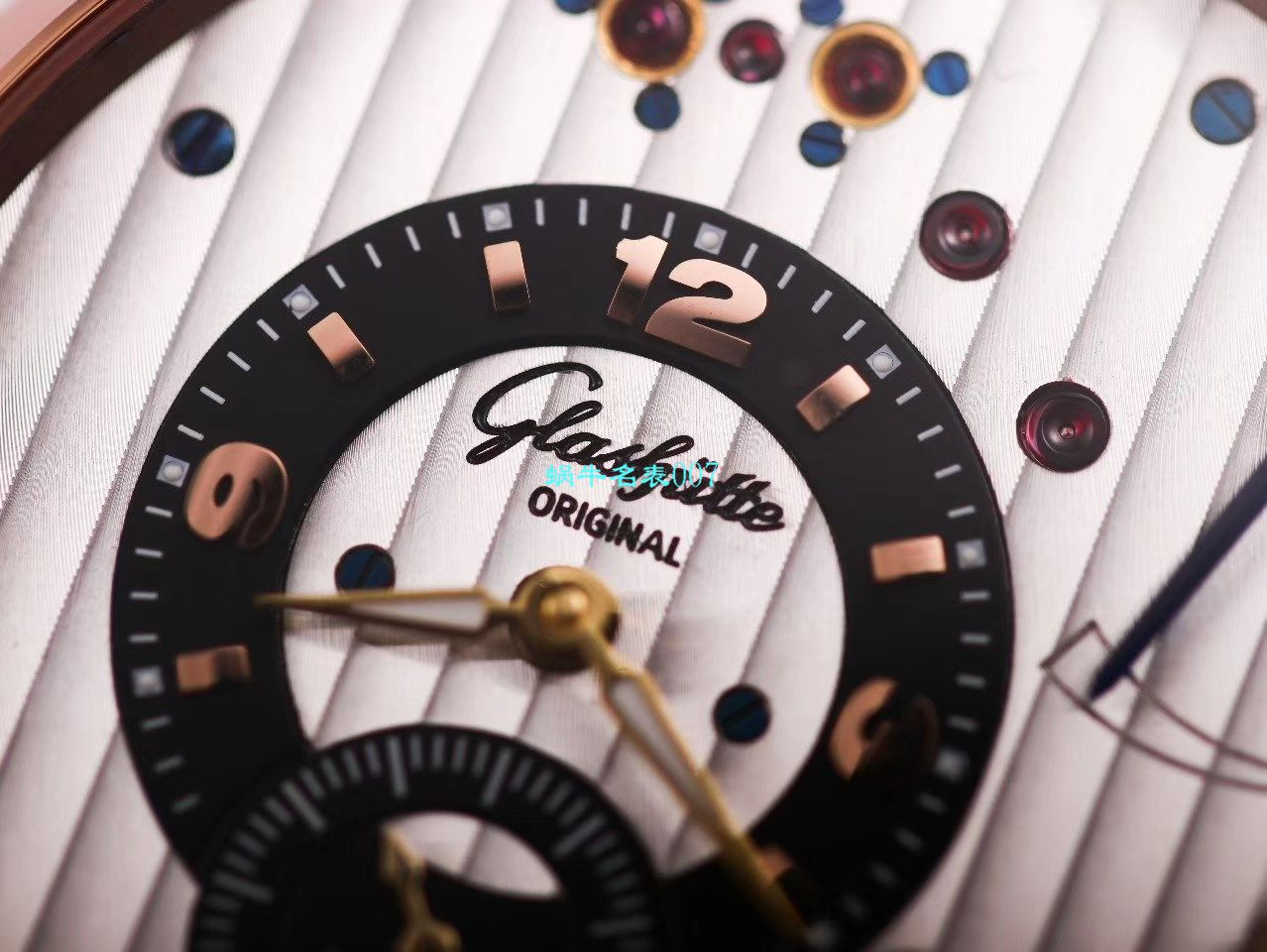 【TZ厂顶级复刻手表】格拉苏蒂原创偏心系列1-66-06-04-22-05腕表 / GLA060