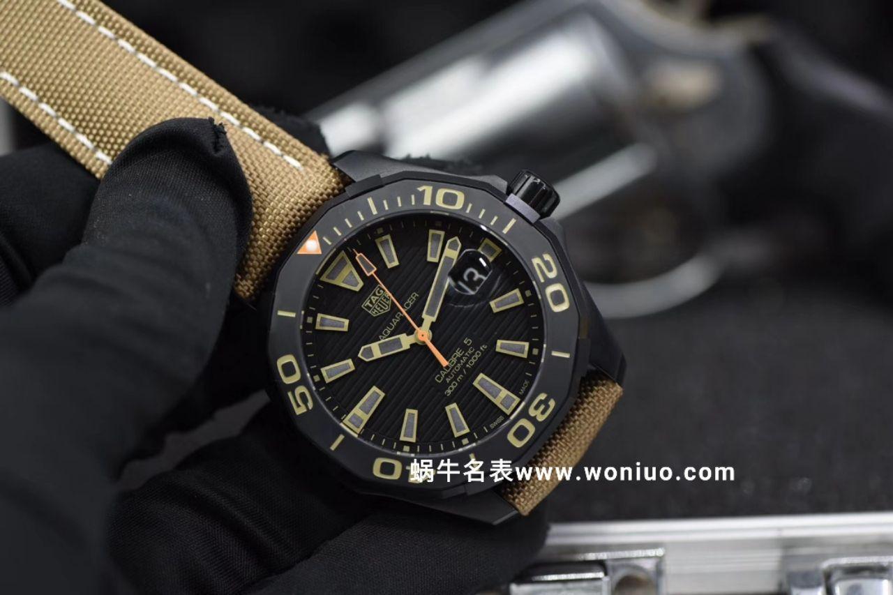 【视频评测HBBV6厂官网复刻表】泰格豪雅竞潜300米WAY208C.FC6383腕表