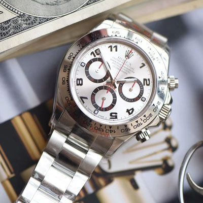 N厂特价,劳力士宇宙计型迪通拿系列116509-78599 银色腕表价格报价